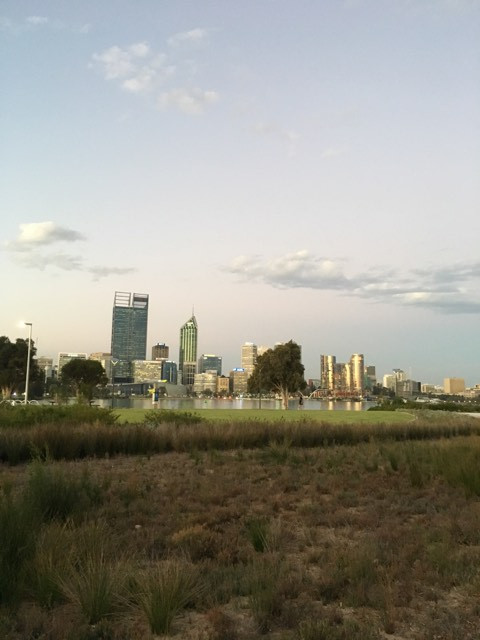 City of Perth from south of the river. Photo credit: Ricardo Lemos de Figueiredo