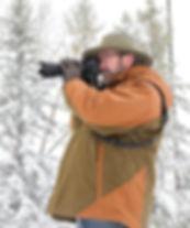 wildlife photographer in snow DSC_0733