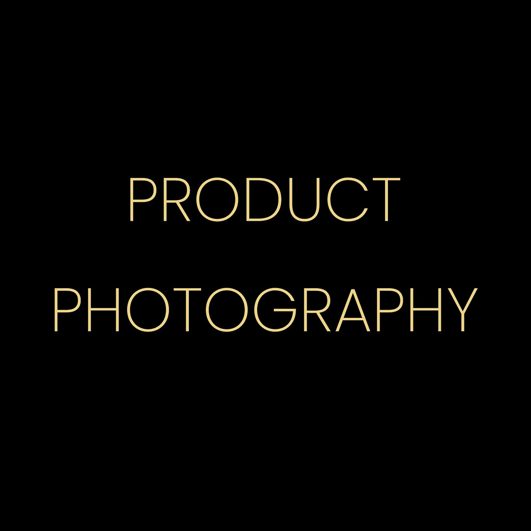 PRODUCT PHOTOGRAPHY gold w black backgro