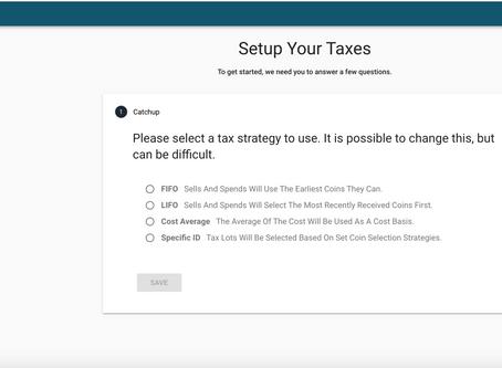 Bitwave Tax Strategies