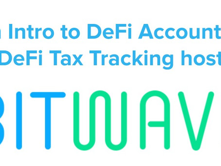 "Upcoming Webinar: ""An Intro to DeFi Taxes and Accounting"""