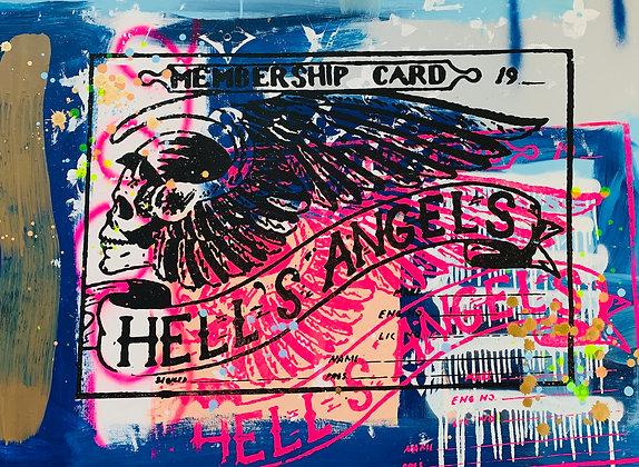 Hells Angels Membership Cards Member 69