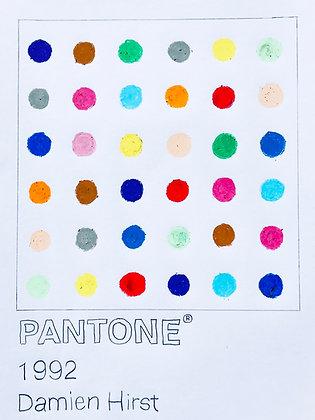 Damien Hirst Pantone