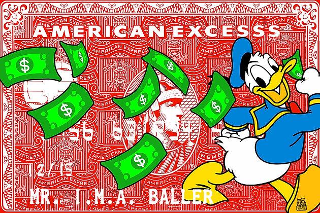 Donald Duck Rich as Fu$$$$