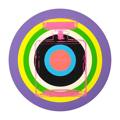 Chanel Purple Circle