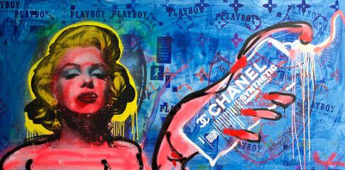 Bitch be Sprayin Baby 180cm x90cm  2.jpe