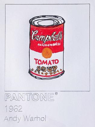 Andy Warhol Pantone