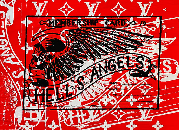 Hells Angels Memberships Cards Supreme Member