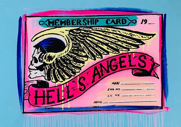 Hells Angels Membership Cards Member 77