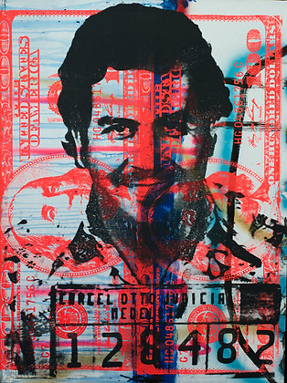 OVER THE BOARDER - PABLO ESCOBAR / Print Edition