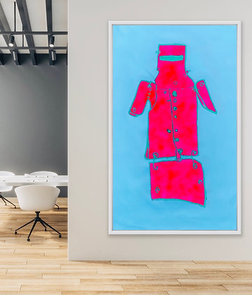 NED KELLY PINK & BLUE