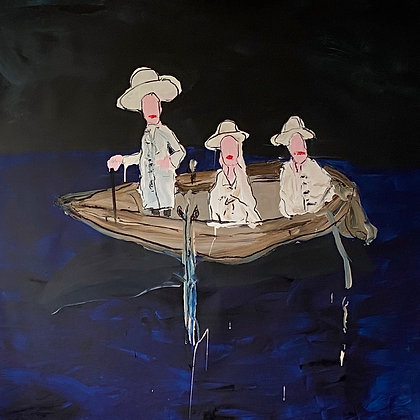Ladies in a Boat