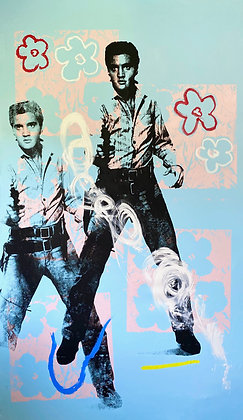 Double Elvis in Bloom