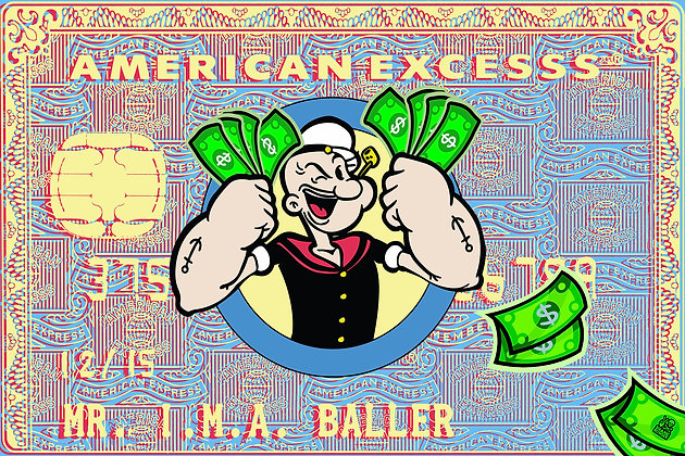 Popeye is a Baller