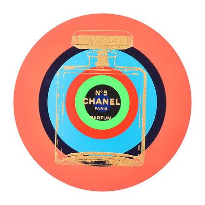 Peach Chanel Circle