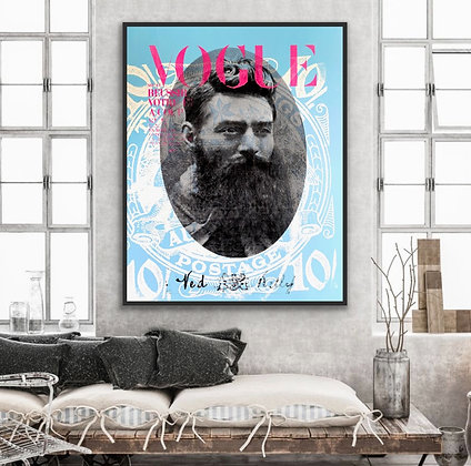 Ned Kelly ...Cover Boy