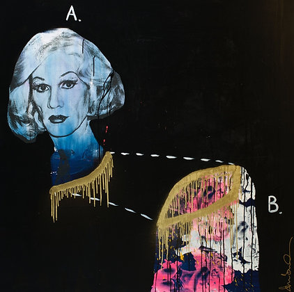 Andy Warhol A + B