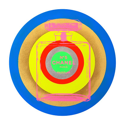 Chanel Blue Circle
