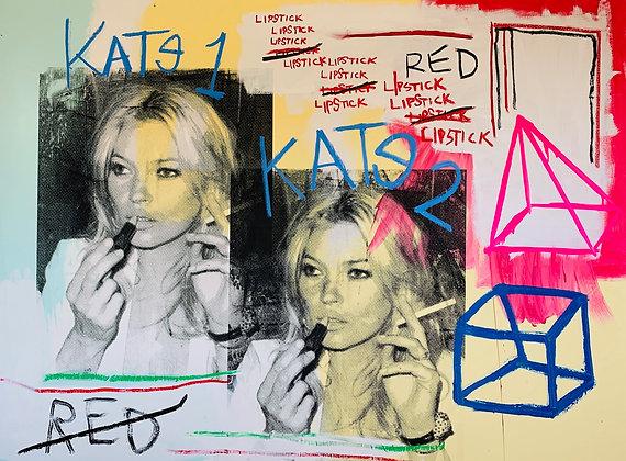Kate Moss Red Lipstick
