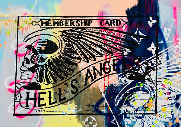 Hells Angels Membership Cards Street Member