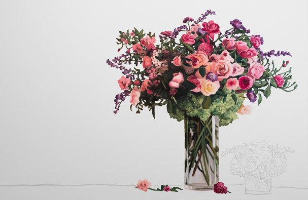 FLOWERS STILL LIFE