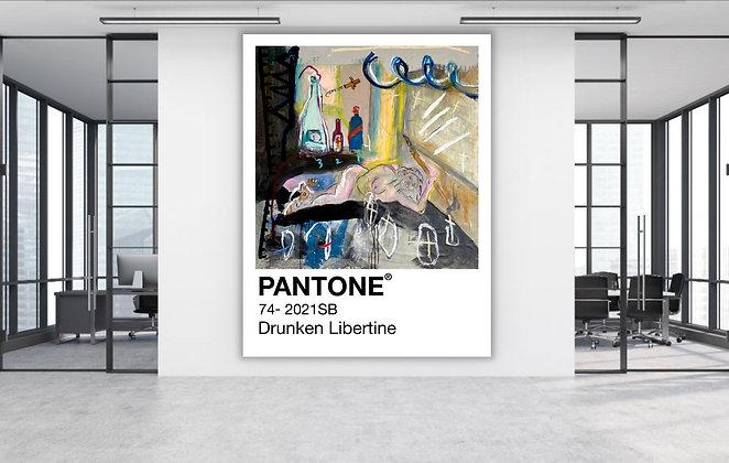 Drunken Libertine Pantone - Archibald Entry 2021
