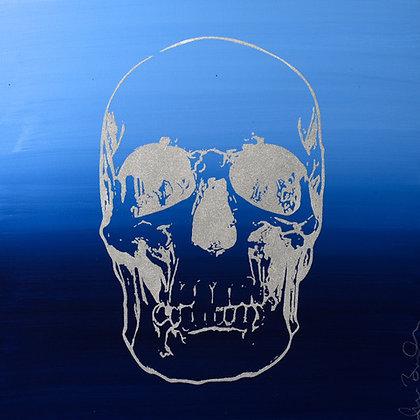 Ocean Blue Skull