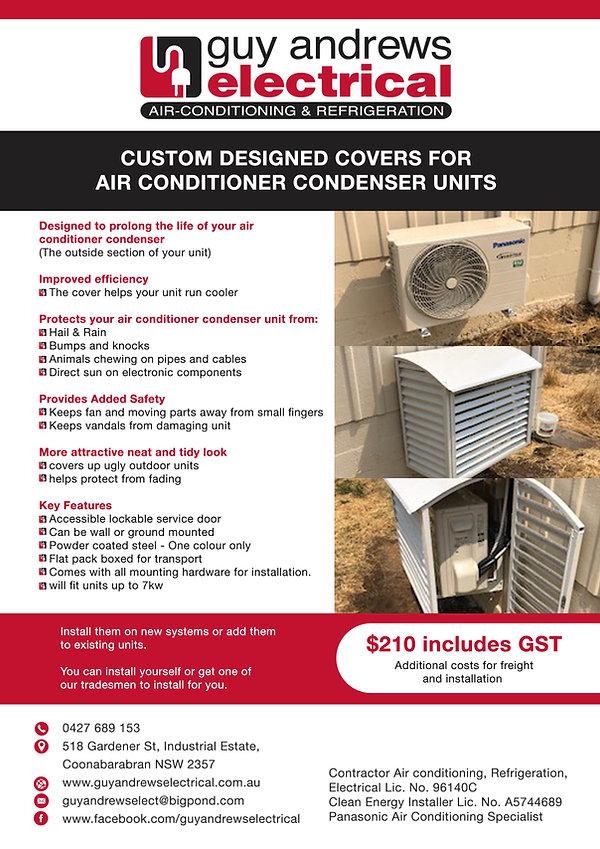 Covers for Air Conditioner Condenser Uni