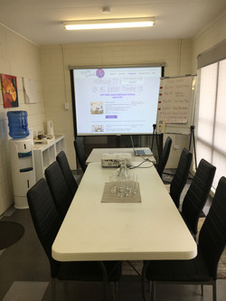 Projector screen and whiteboard