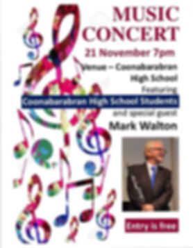 Coonabarabran High School Music Concert