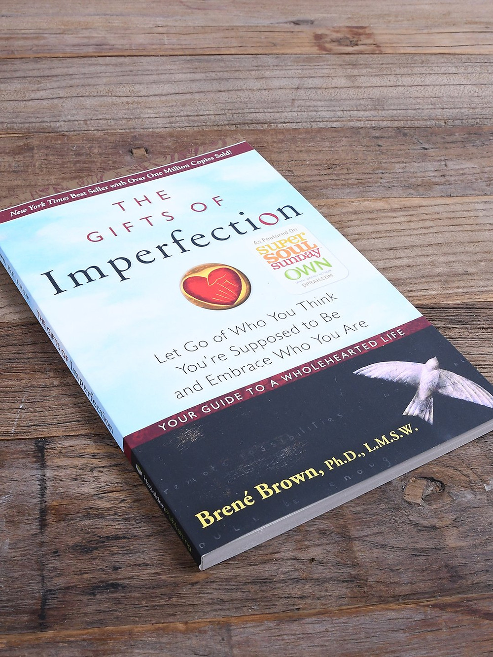 Book 'The Gifts of Imperfection' by Brene Brown