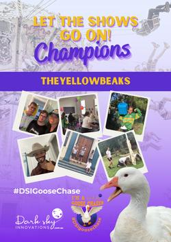 3rd TheYellowBeaks GooseChase Champions