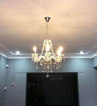 Chandalier and downlights.jpg