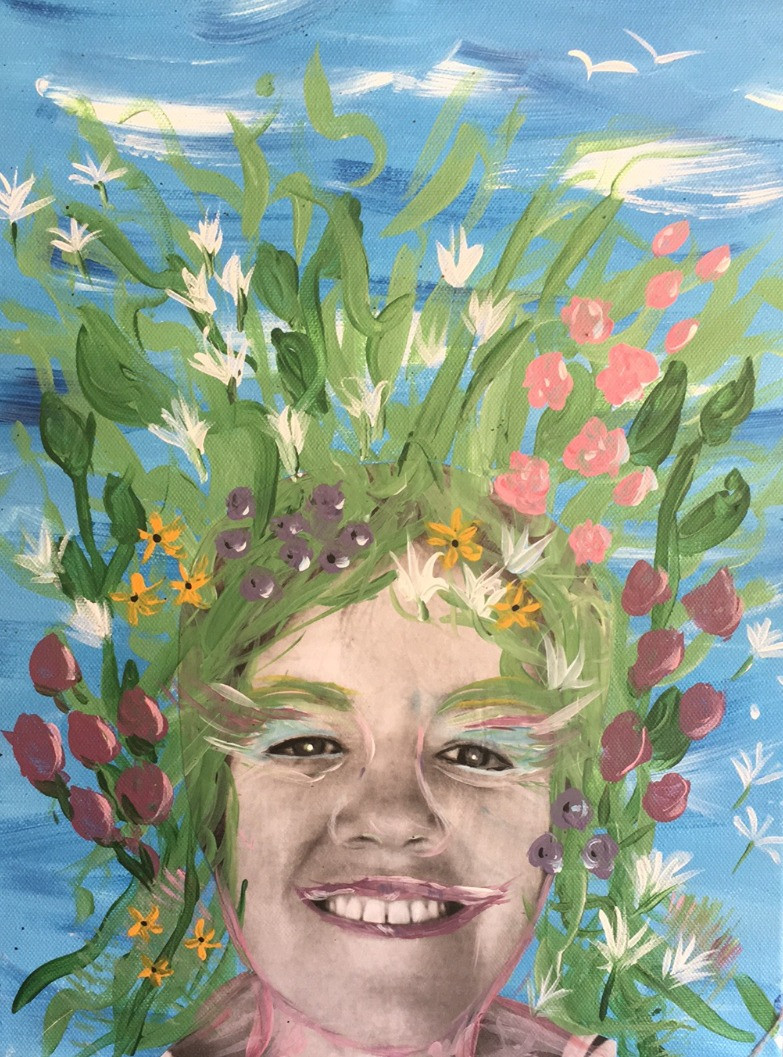 Vivian - self portrait 'In Bloom'
