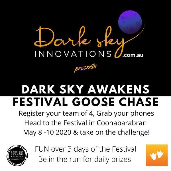 Dark Sky Festival Goose Chase updated (1