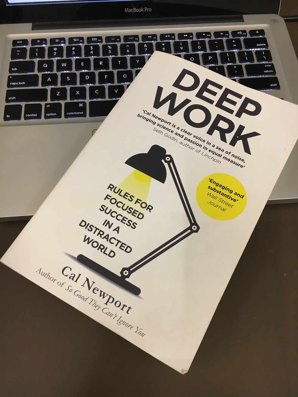 Cover of 'Deep Work' by Cal Newport