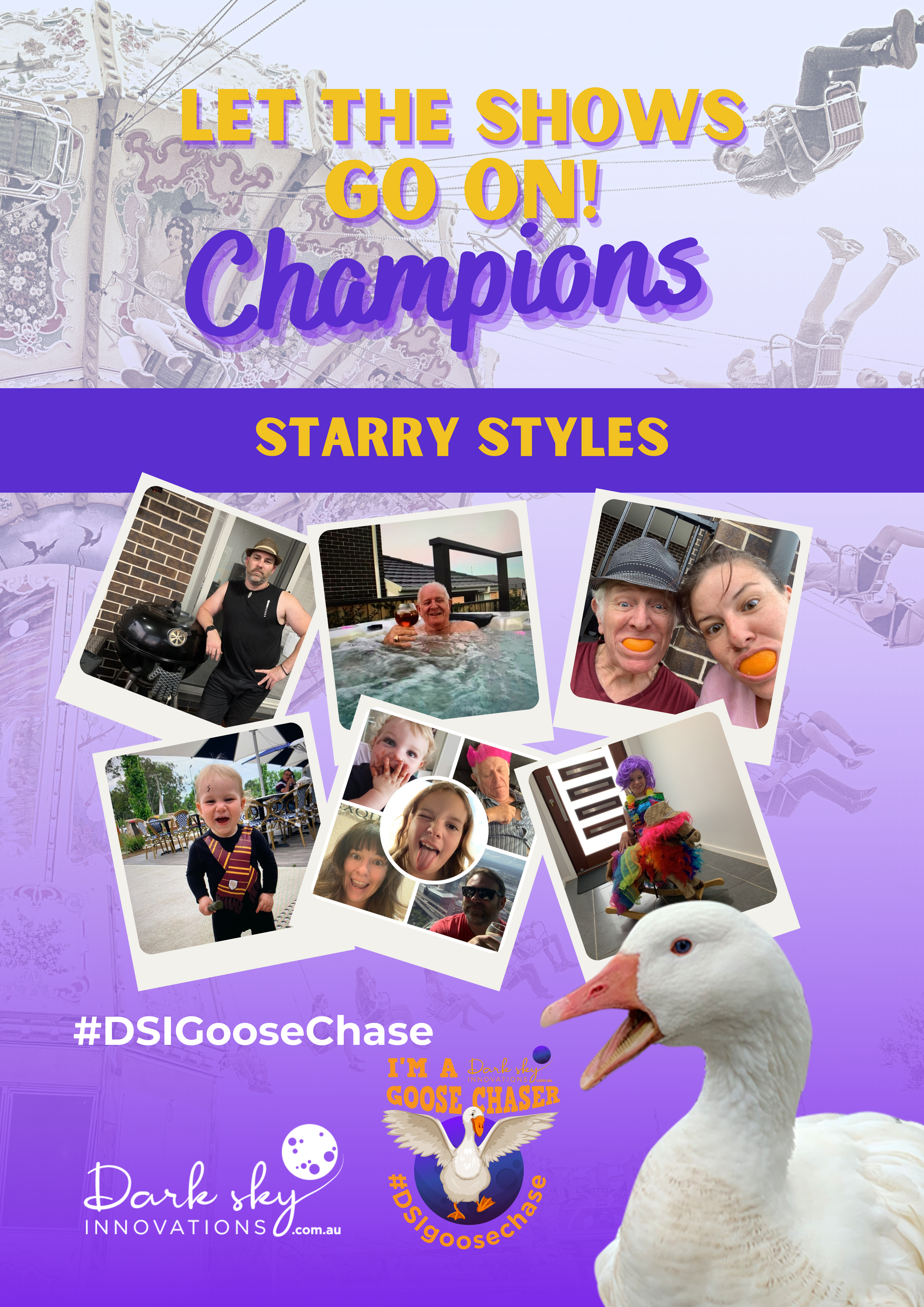 2nd Starry Styles GooseChase Champion po