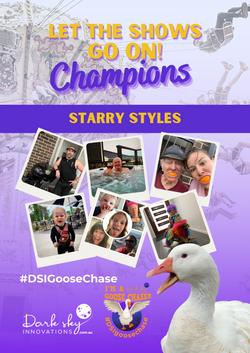 2nd Starry Styles GooseChase Champion po