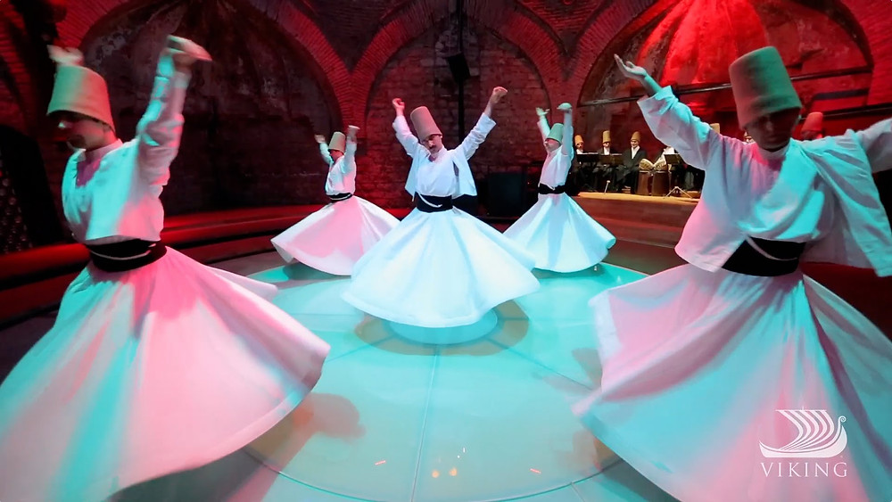 Whirling Dervishes in a spin