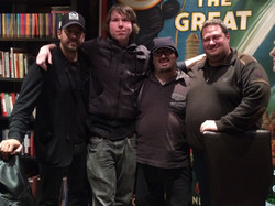 w David Blaine and Th Fat Brothers