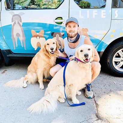 Life's Ruff dog walker
