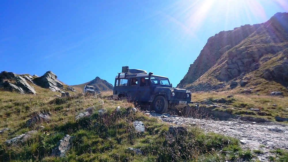 Fully Catered Alps 4X4 Overland Adventure Holiday Tours