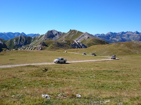 Alps 4X4 Tour - full 10 day itinerary described