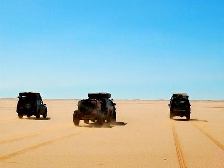 Western Sahara: the original 2009 recce trip!