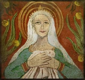 Sainte Genevieve 10 cm x 10 cm