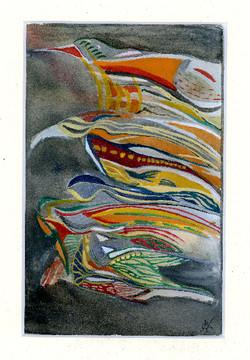 Oiseaux des Iles 21 x 29,7 cm