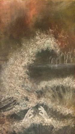 L'Annonce 100 x 45 (collection privée)