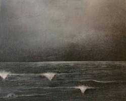 Mer de nuit (collection privée)
