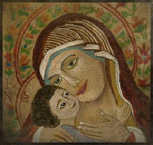 Marie et Jesus 10 cm x 10 cm