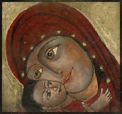 Jesus et Marie 10 cm x 10 cm